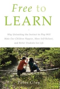 Het nieuwe Boek van Peter Gray - Free to Learn.