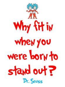 Een quote van Dr. Seuss